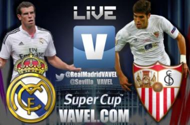 Resultado do jogo Real Madrid x Sevilla  pela Supercopa da Uefa
