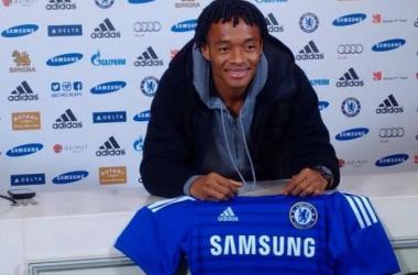 Juan Guillermo Cuadrado ya es jugador del Chelsea