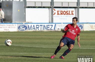 Miguel Flaño durante un partido | Fotografía: Rodrigo Jiménez
