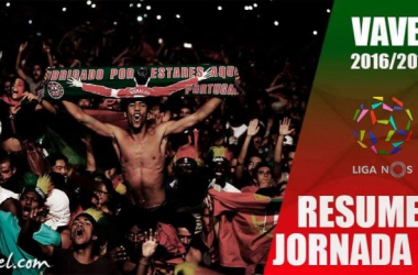 Resumen Jornada 10 Liga NOS: Benfica mantiene la distancia mientras el Sporting alcanza al Porto