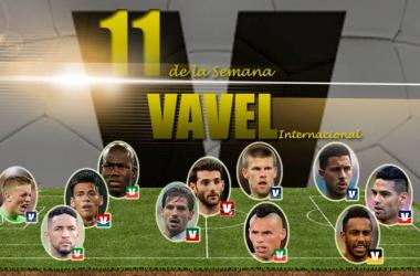 Once de Oro de Internacional VAVEL | Fotomontaje: VAVEL.com