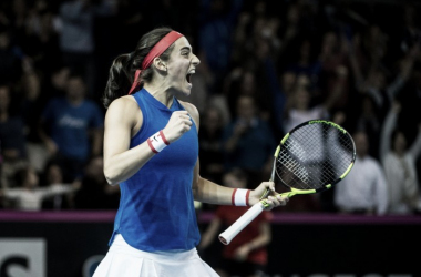 Garcia seals an important win for France | Photo: Fed Cup
