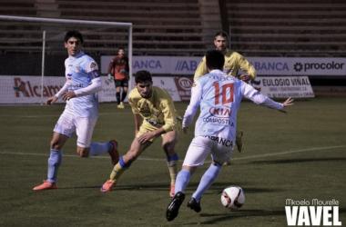 Fotos e imágenes del SD Compostela 0-1 Arandina CF de la jornada 19, Segunda División B Grupo I
