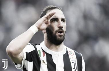 Festival de goles en Turín: 7-0 al Sassuolo y hat-trick de Higuaín