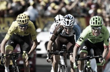 Rigoberto Urán se mete en el podio del Tour de Francia