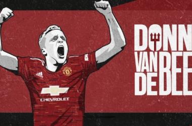 OFICIAL: Van de Beek ficha por el Manchester United