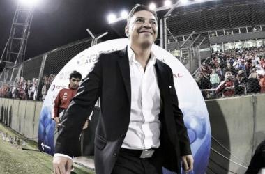 Gallardo, siempre con autocrítica (Foto: Prensa River)