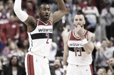 Los Wizards hechizan a unos 76ers con buena pinta