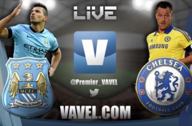 Live Manchester City - Chelsea in Premier League