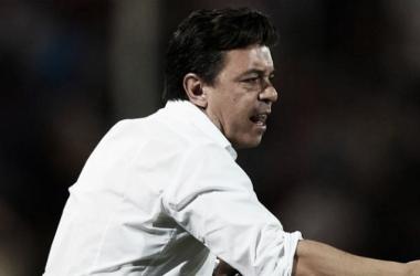 Gallardo, alcanzó su décima final desde que esta al mando del Millonario (Foto: La Página Millonaria)