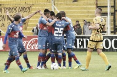 El Matador goleó en el Carminatti en 2016 (Foto: La Nueva).