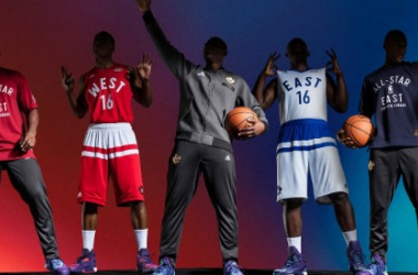 Adidas y la NBA desvelan los uniformes del All-Star 2016