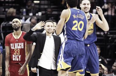 Resumen NBA: los Warriors cierran 2015 con victoria. Foto:USA Today Sports