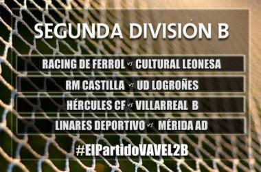 El Partido VAVEL: Segunda División B, jornada 15