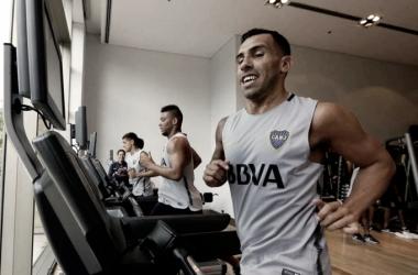"""""""Emmanuel Mas y Carlos Téves: La nueva cara y el retorno de un Ídolo"""" Fuente: Sitio Oficial Boca Juniors"""