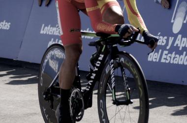 Jonathan Castroviejo disputando la contrarreloj de los Campeonatos del Mundo de 2014 en Poferrada | Foto: VAVEL.com