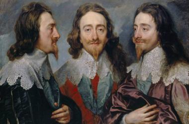 "<div><font color=""#000000"" face=""sans-serif""><span>Carlos I de Inglaterra y Escocia. Retrato de Van Dyck. Royal Academy.</span></font></div>"
