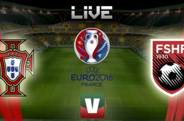 Qualificação Euro 2016: Portugal x Albânia