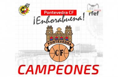 Pontevedra CF. Campeón de la Copa RFEF | Fuente: Cope.es