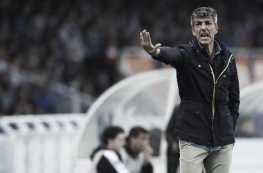 """Imanol Alguacil: """"Los jugadores están compitiendo como animales"""""""