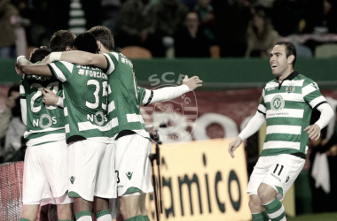 Em noite que homenagearam a Chapecoense, os leões conquistaram mais 3 pontos // Foto: Facebook do Sporting CP