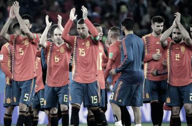 Puntuaciones de España en el Mundial de Rusia 2018