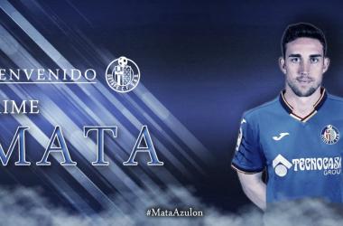 Jaime Mata, nuevo jugador del Getafe