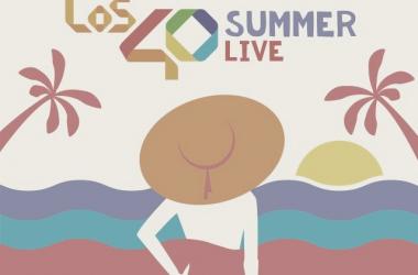 Logo 40 Summer Live edición 2018 // Imagen: Twitter Los40