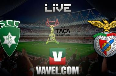 Resultado Sporting Covilhavs Benfica en la Taça de Portugal 2014 (2-3)