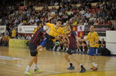 El Barça celebra la ASOBAL en Huerta del Rey