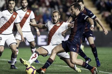 El Rayo Vallecano disputa el encuentro del pasado fin de semana contra el Eibar | Fotografía: Rayo Vallecano