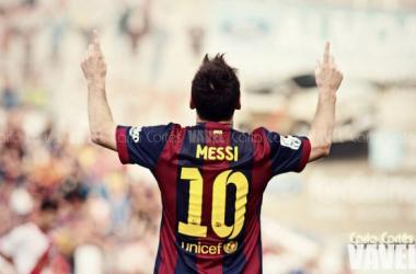 """Messi: """"El técnico es él y me saca cuando me tiene que sacar"""""""