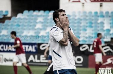 Kilian lamenta una ocasión fallada la pasada jornada (Foto: Andrea Royo | VAVEL).