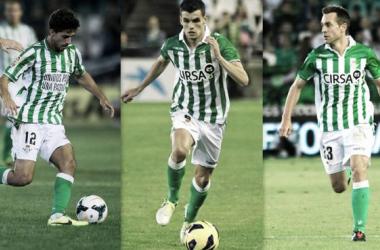 Béticos 2013: Dídac Vilà, Álex Martínez y Nacho.