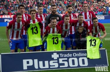 Atlético-Las Palmas; puntuaciones del Atleti, jornada 16 de Liga