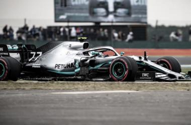 Bottas encarando la entrada a la última parte del circuito | Foto: Fórmula 1