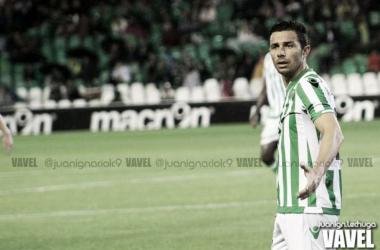 Rubén Castro durante un partido con el Betis | Fotografía: Juan Ignacio Lechuga