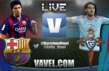 Resultado partido Barcelona - Celta de Vigo  en directo