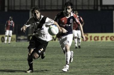 Paraná abre o placar, mas cede o empate ao Vasco no final do segundo tempo