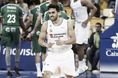 El Real Madrid sufre para doblegar a un combativo Unicaja de Málaga