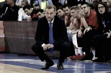 """""""He visto a los jugadores con muchas ganas, el equipo está muy activo"""". Fuente: ACB.com"""