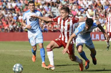 Tarde de poco fútbol en Almería