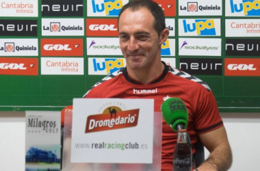 """Pedro Munitis: """"El Racing irá de menos a más"""""""