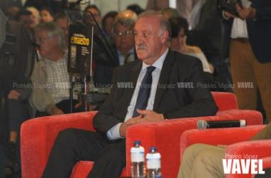 """Del Bosque: """"El Sevilla tiene jugadores muy buenos"""""""
