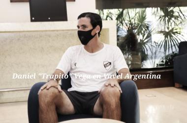 A FONDO. El contador Vega, no dejó tema sin tocar, donde sin pelos en la lengua repasó su trayectoria. Foto: Vavel Argentina