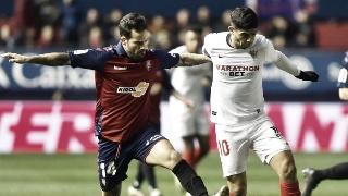 Imagen del encuentro de El Sadar que terminó 1-1. Fuente: CA Osasuna