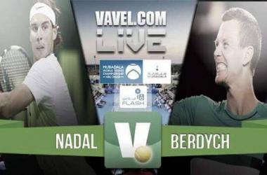 Resumen Rafael Nadal 2-0 Tomas Berdych en Mubadala World Tennis Championship 2016