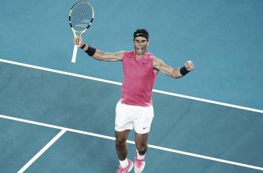 Nadal venció a Kyrgios y se metió en los cuartos del Australian Open