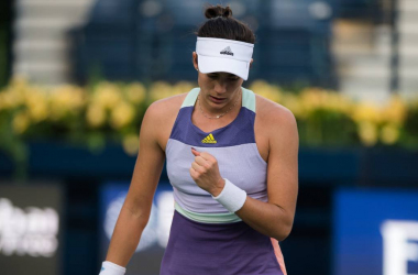 WTA Doha: Garbine Muguruza wins thriller against Daria Kasatkina