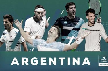 Argentina ya confirmó a sus jugadores para enfrentar a Colombia en Copa Davis